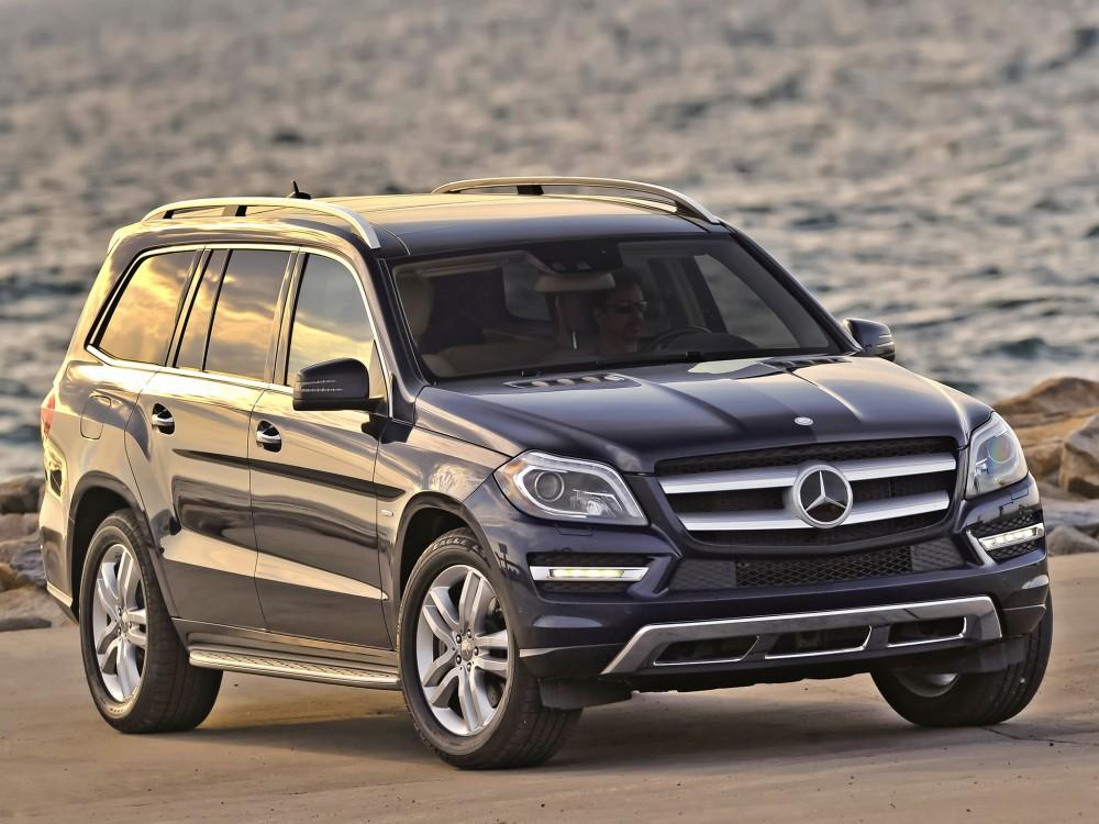 Машина Mercedes GLE