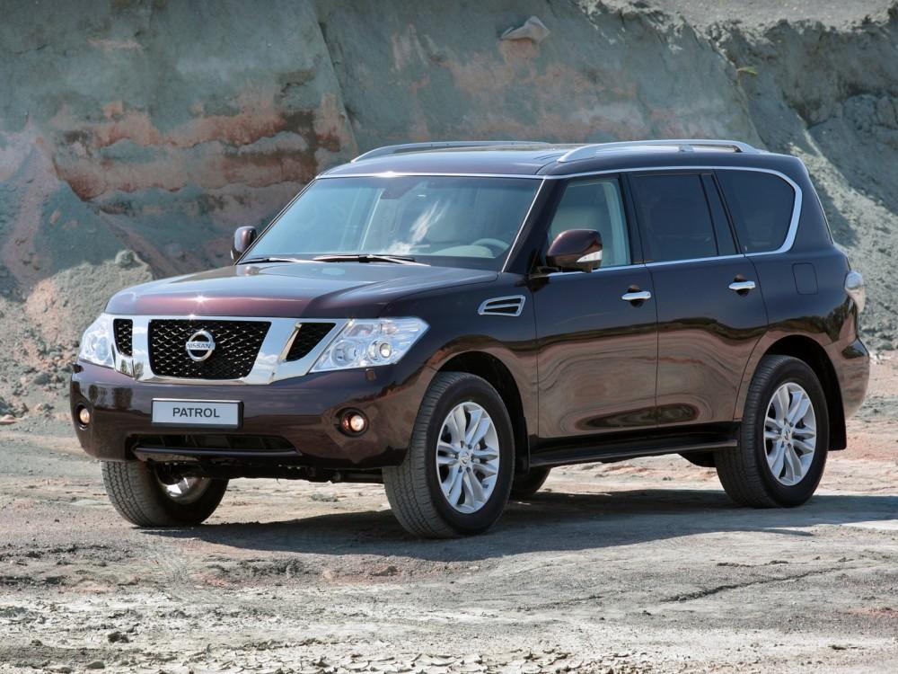 Машина Nissan Patrol