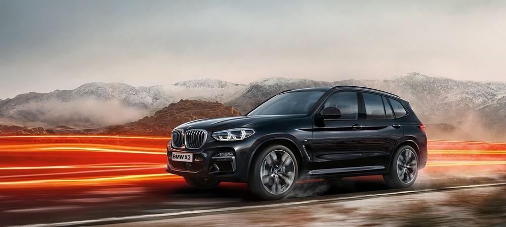 BMW X3 черный