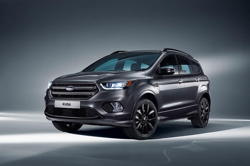 Черный Ford Kuga