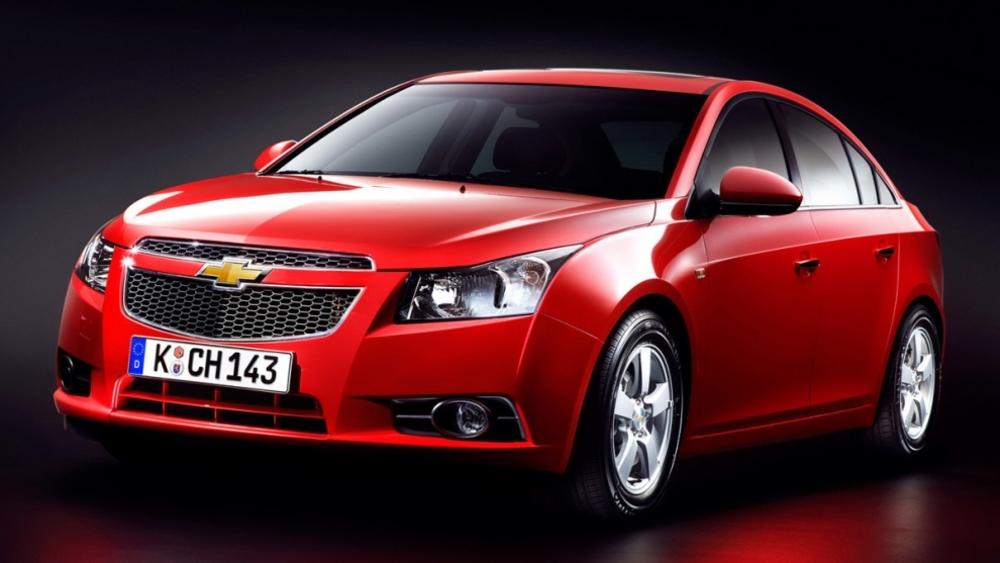 Chevrolet Cruze красный