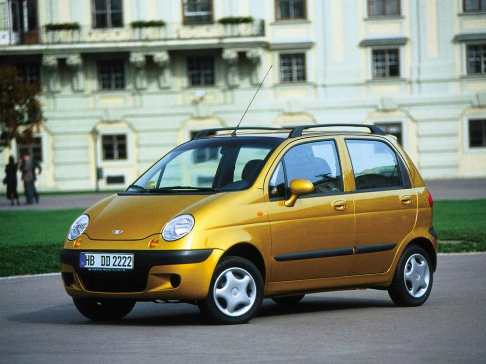Daewoo Matiz желтый