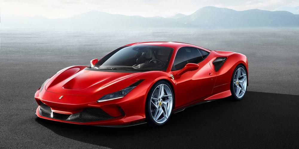 Суперкар Ferrari F8 Tributo