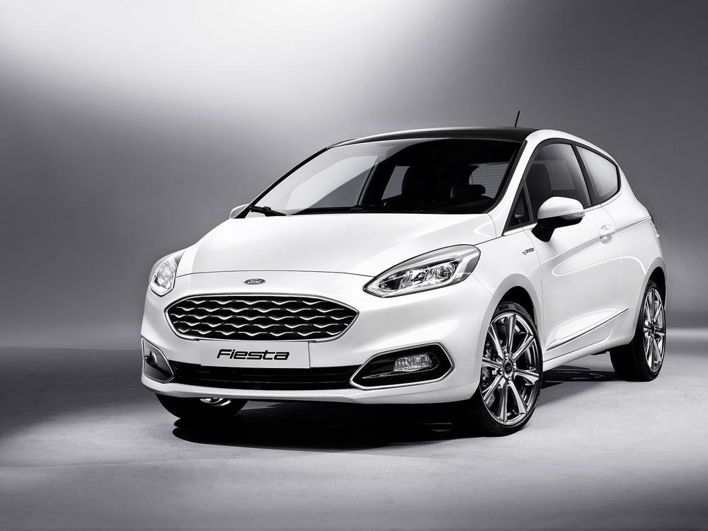 Ford Fiesta белый