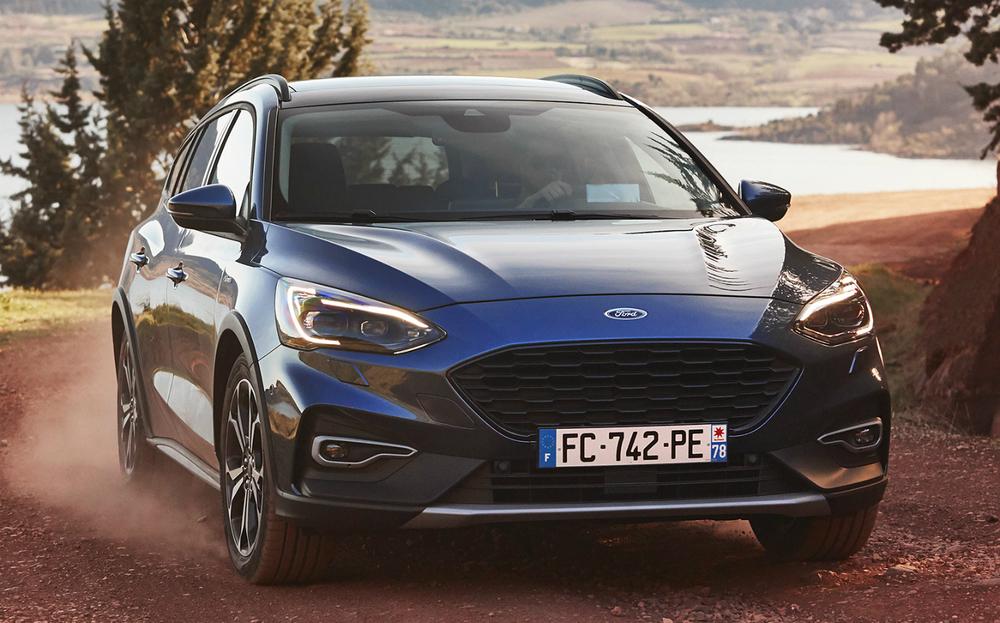 Ford Focus серый