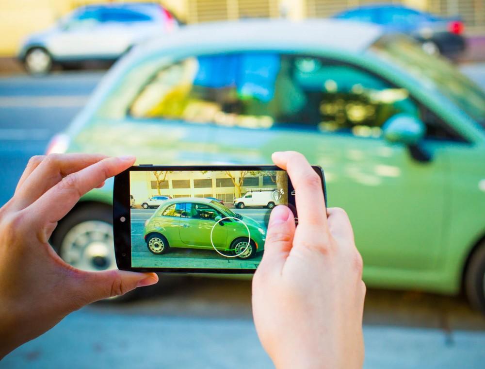 Фотографирование автомобиля для объявления о продаже