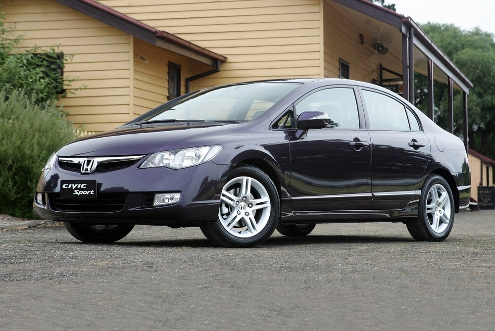 Honda Civic черная