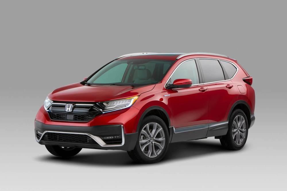 Honda CR-V красный цвет