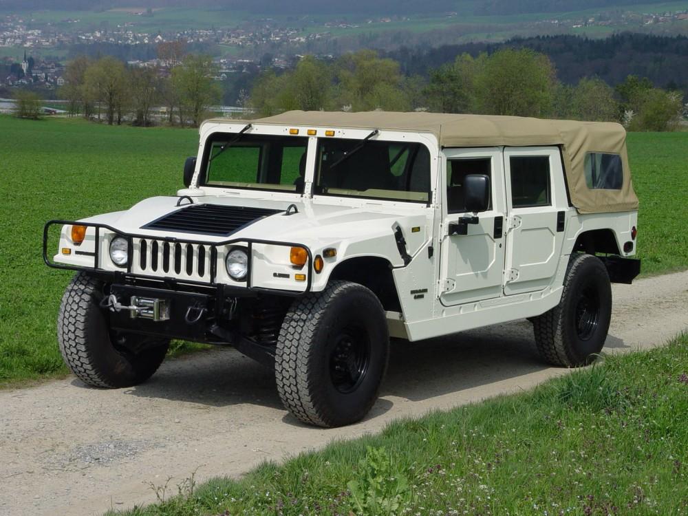 Внедорожник Hummer H1-H3