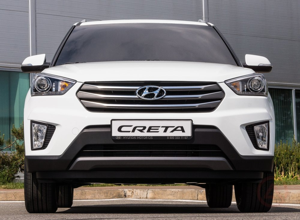 Hyundai Creta белый цвет