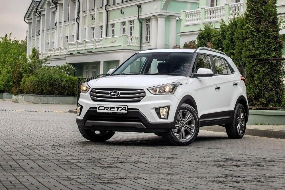 Hyundai Creta цвет белый