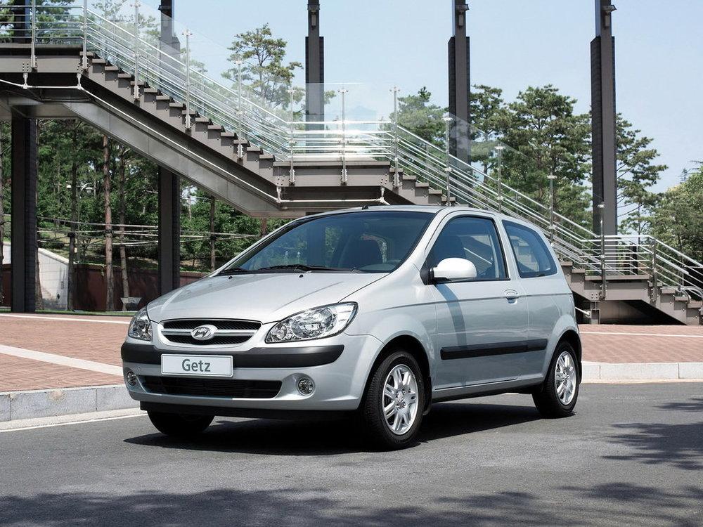 Hyundai Getz серый