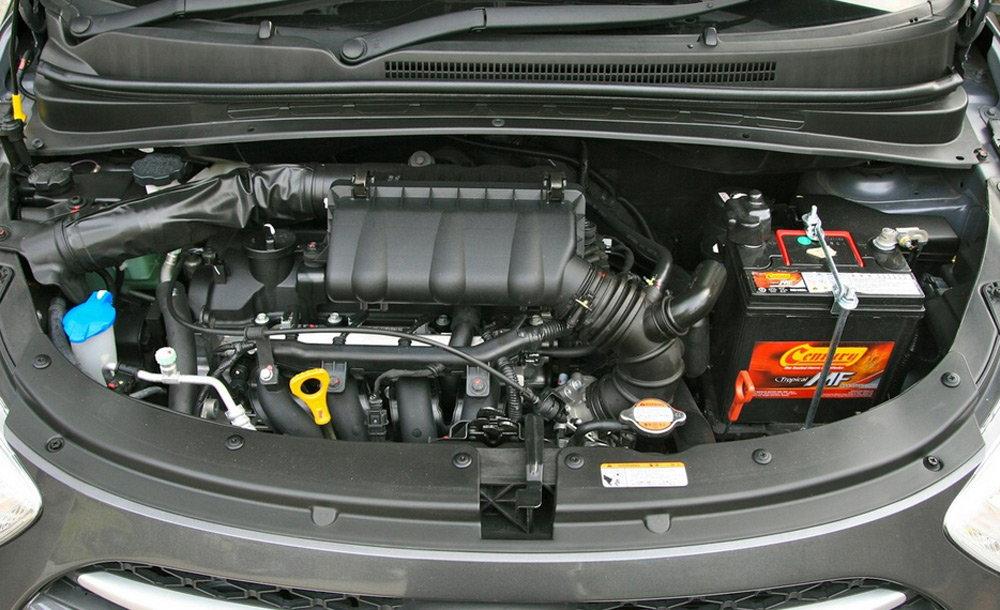 Под капотом Hyundai i10