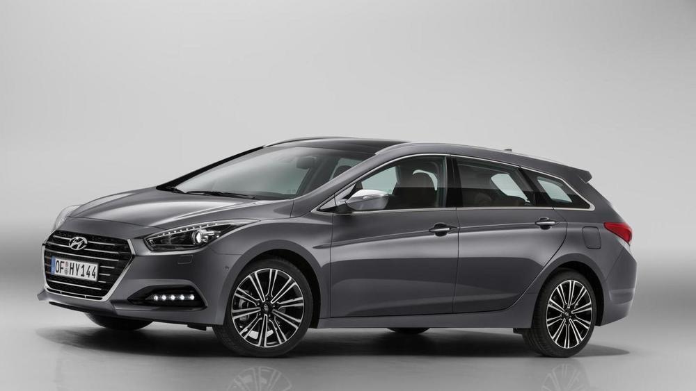 Hyundai i40 серый