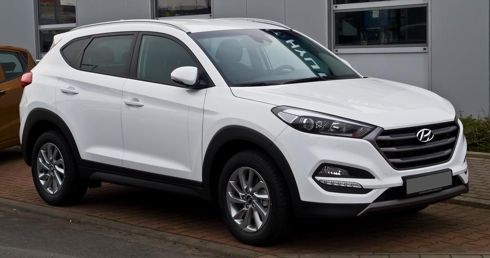Hyundai Tucson белый