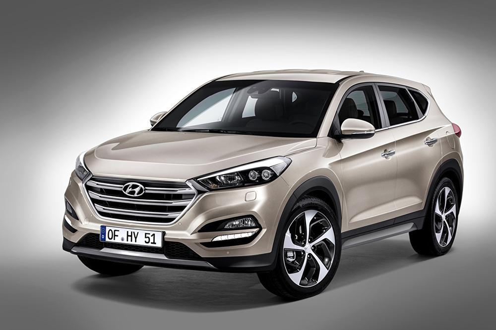 Hyundai Tucson серый