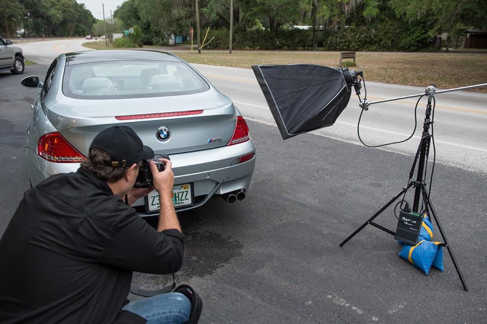 Создание фотографий автомобиля