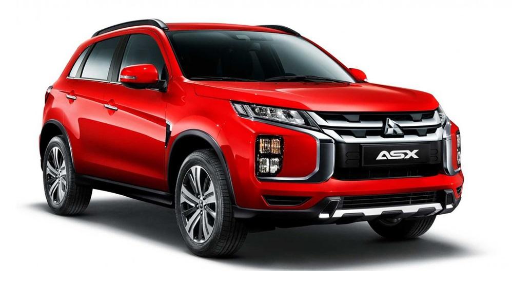 Красный Mitsubishi ASX