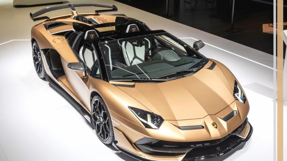 Автомобиль Lamborghini Aventador SVJ Roadster
