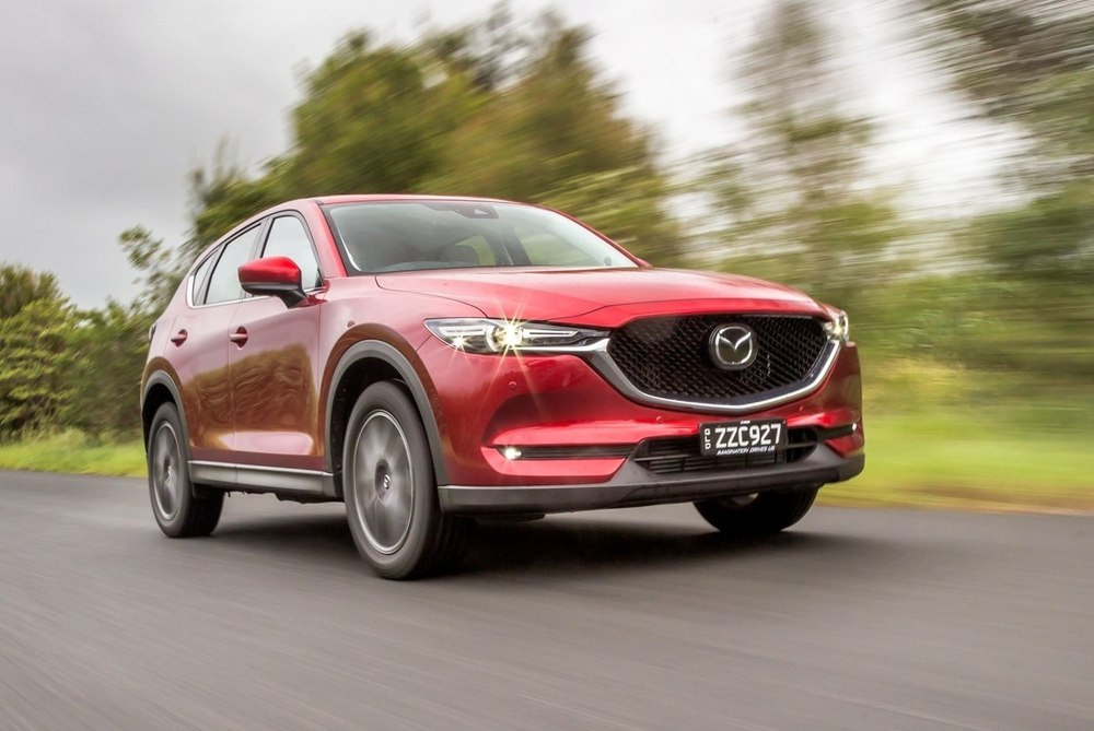 Mazda CX-5 красная