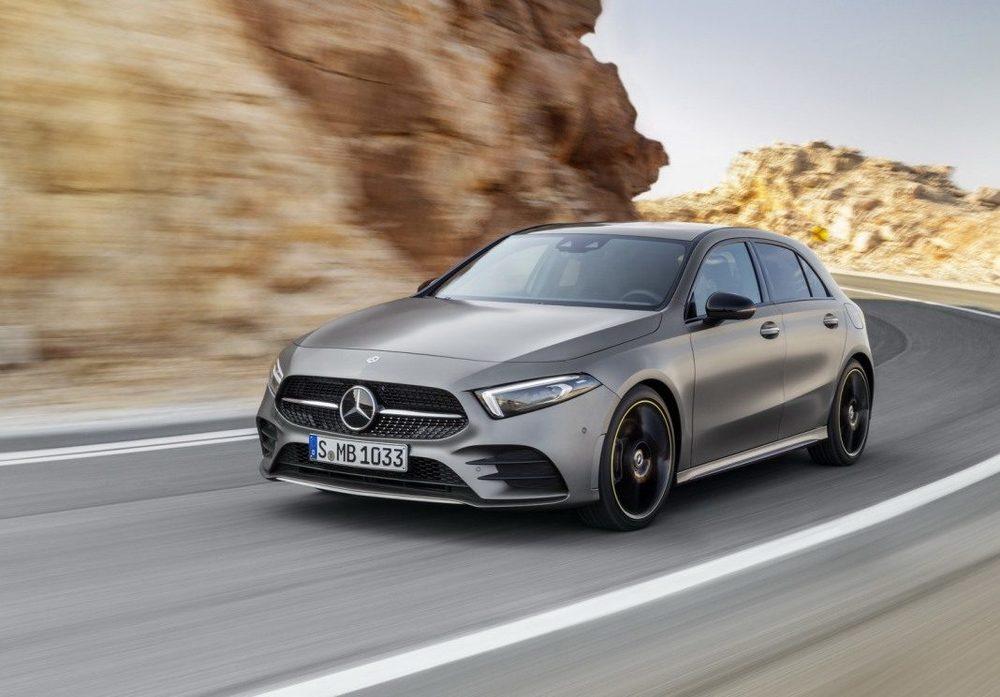 Mercedes A-Class серый