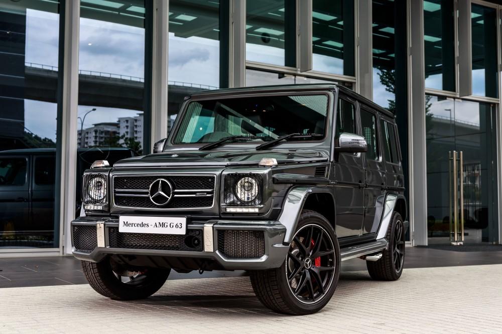 Внедорожник Mercedes G-Class