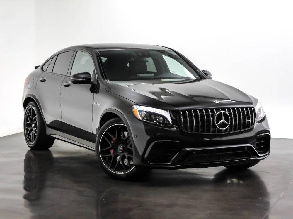 Mercedes GLC черный