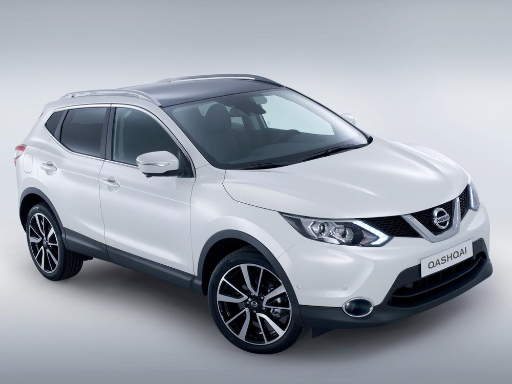Nissan Qashqai белый