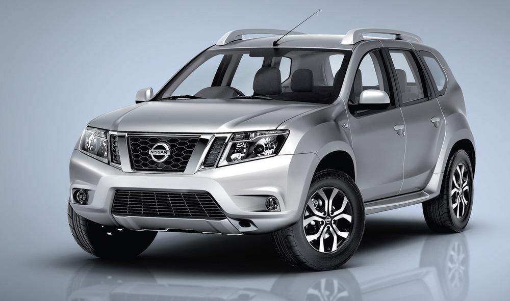 Nissan Terrano серый