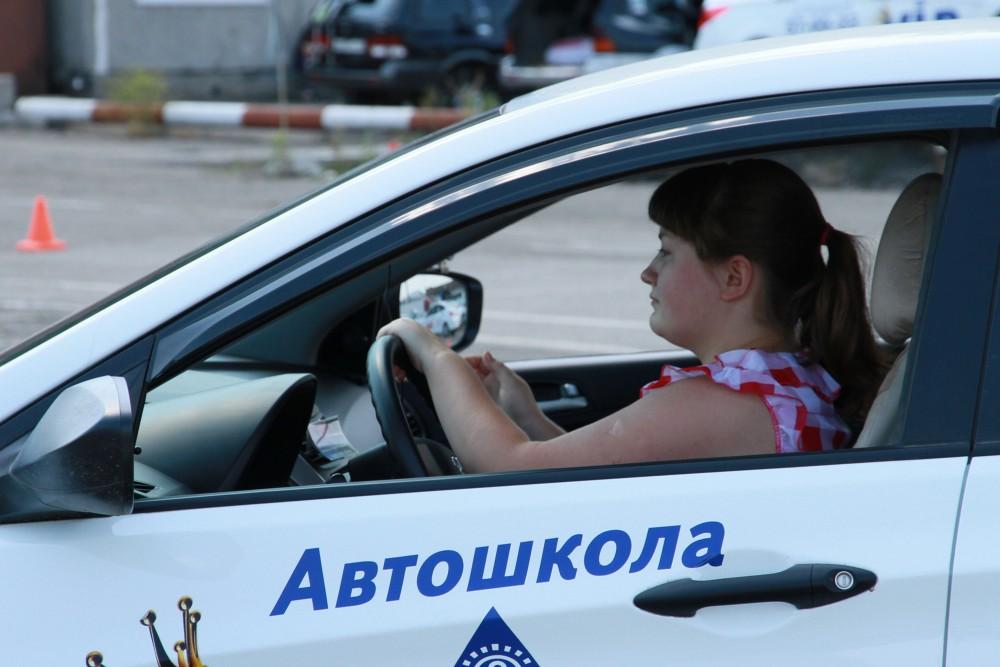 Обучение вождению на автомобиле