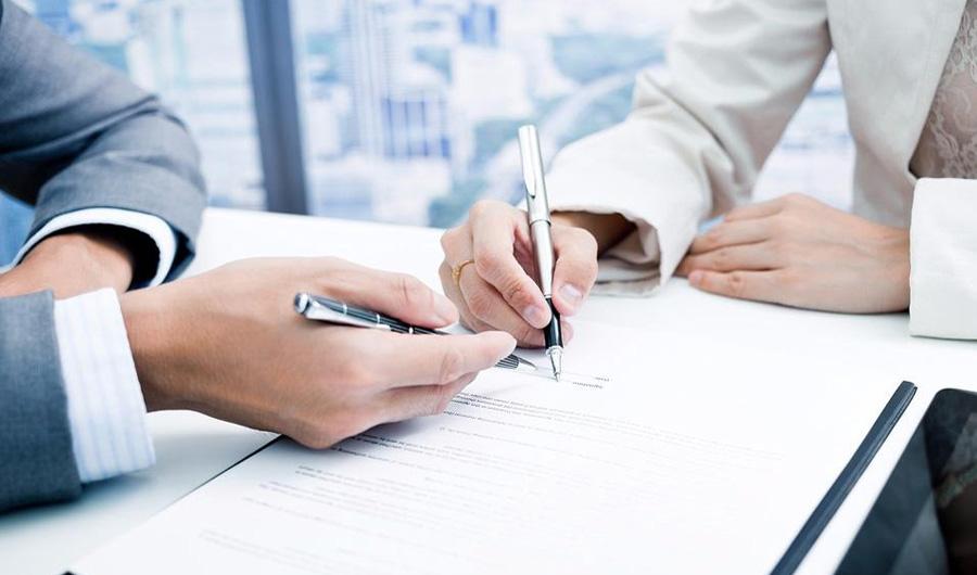Оформление договора страхования