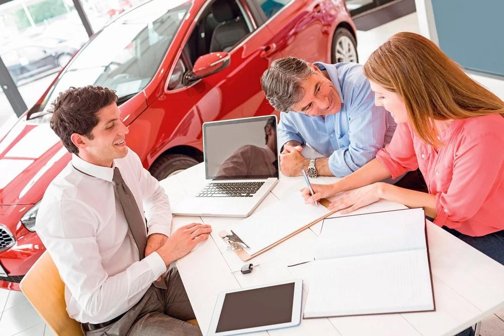 Приобретение машины в автосалоне