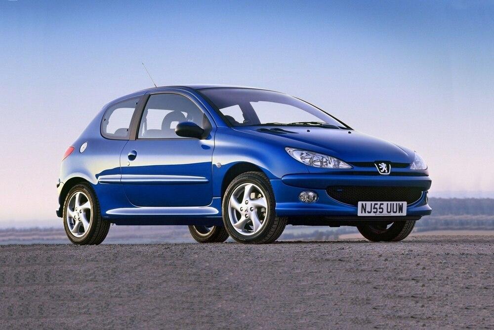 Peugeot 206 синий