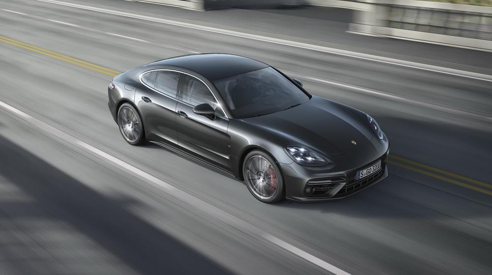 Porsche Panamera серый