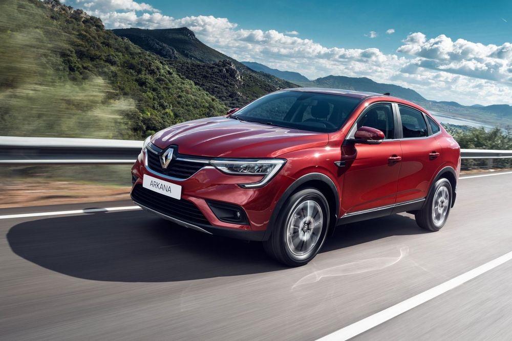 Renault Arkana красный