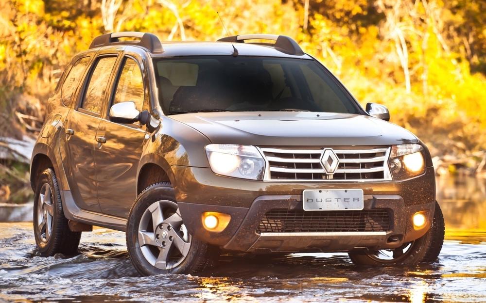 Renault Duster коричневый