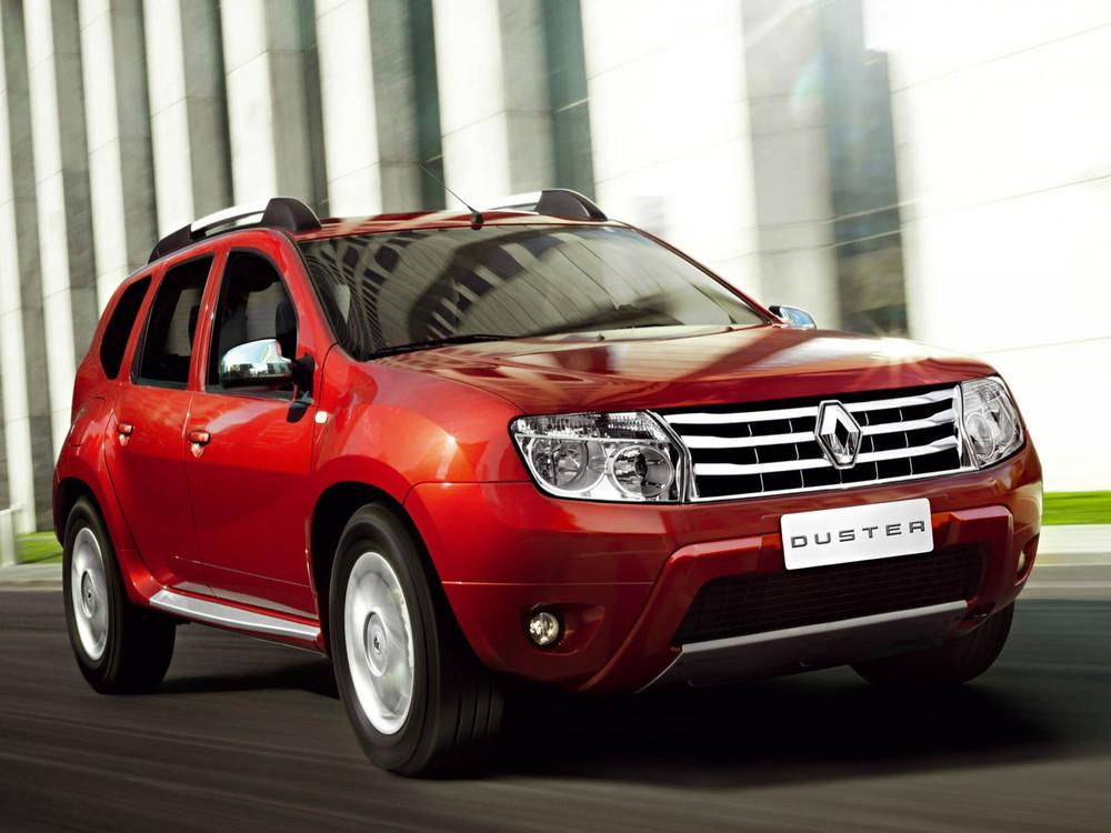 Renault Duster красный