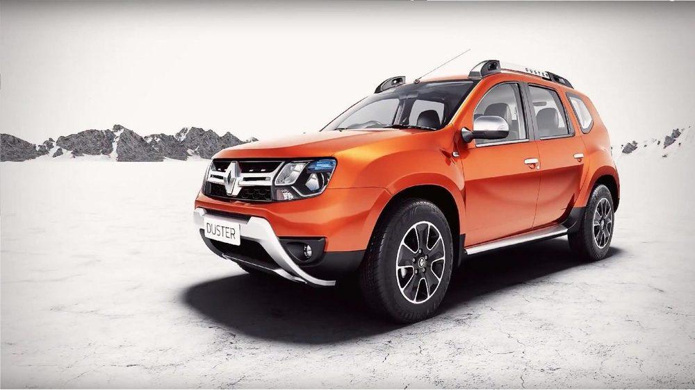 Renault Duster рыжий