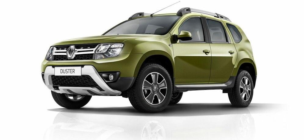 Renault Duster зеленый