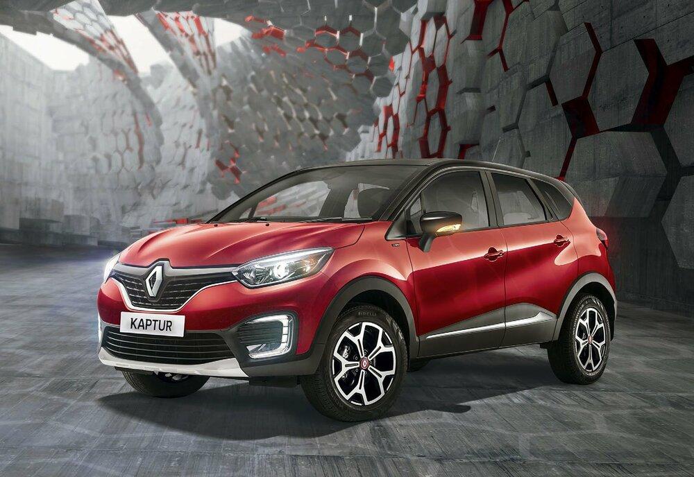 Renault Kaptur красный