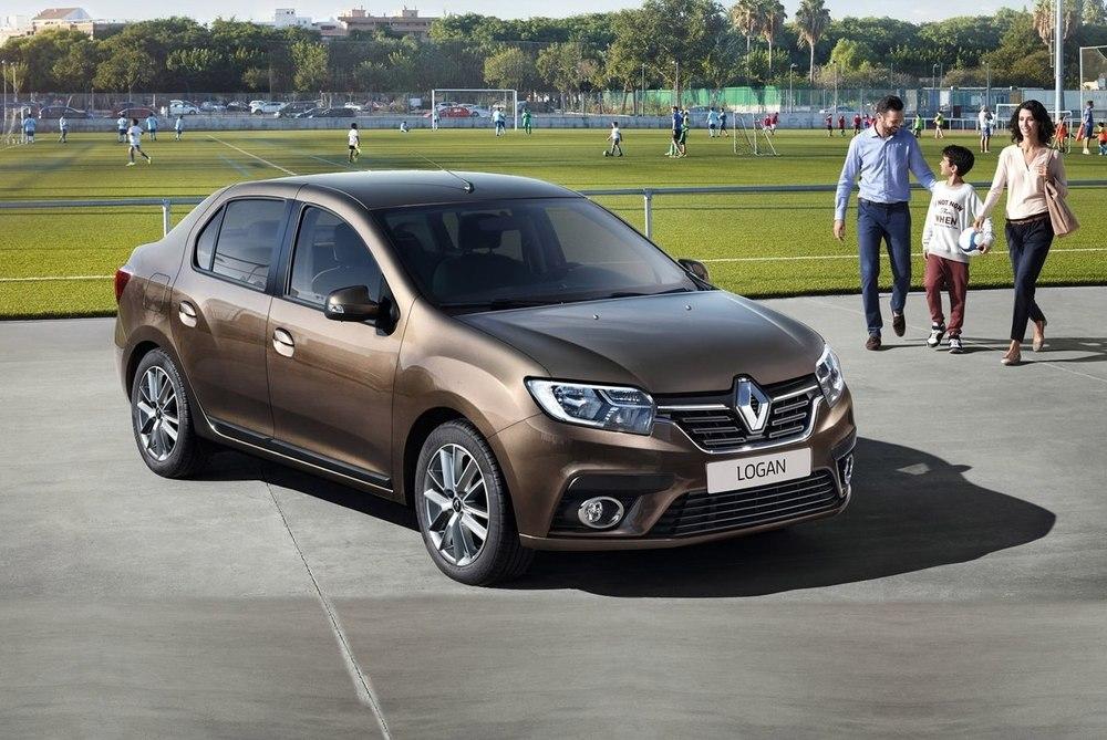 Renault Logan коричневый