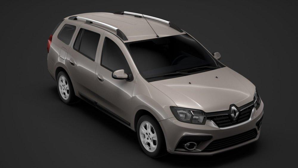 Renault Logan MCV бежевый