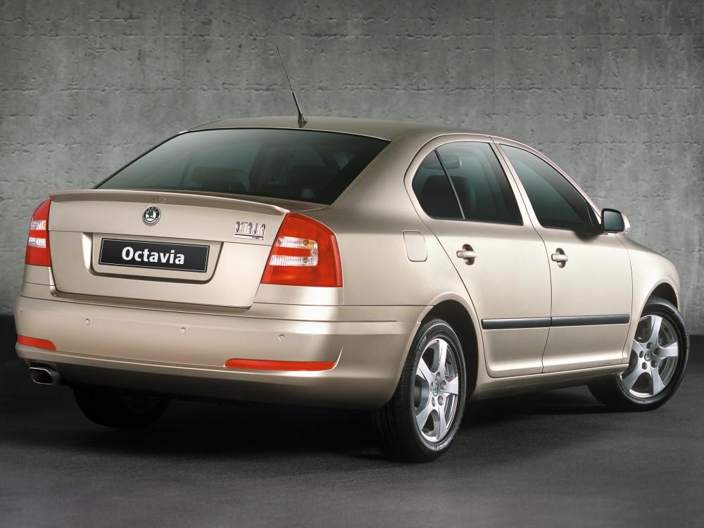 Автомобиль Skoda Octavia A5