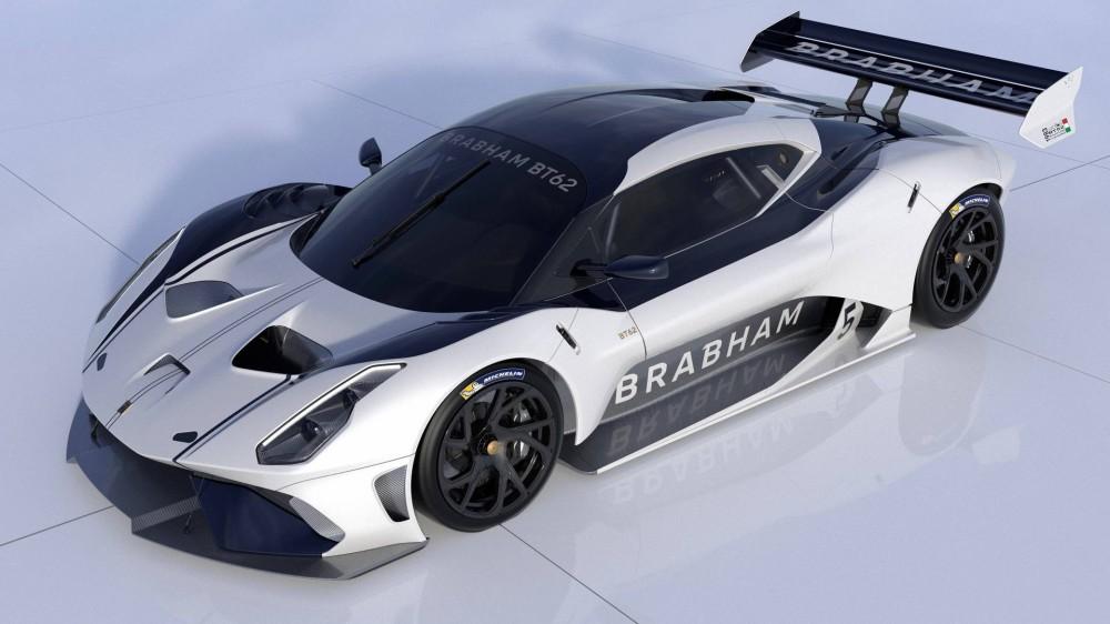Машина Brabham BT62