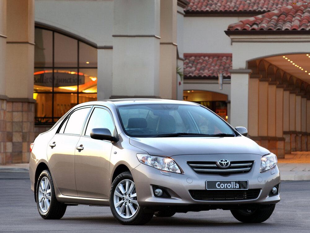 Toyota Corolla серый