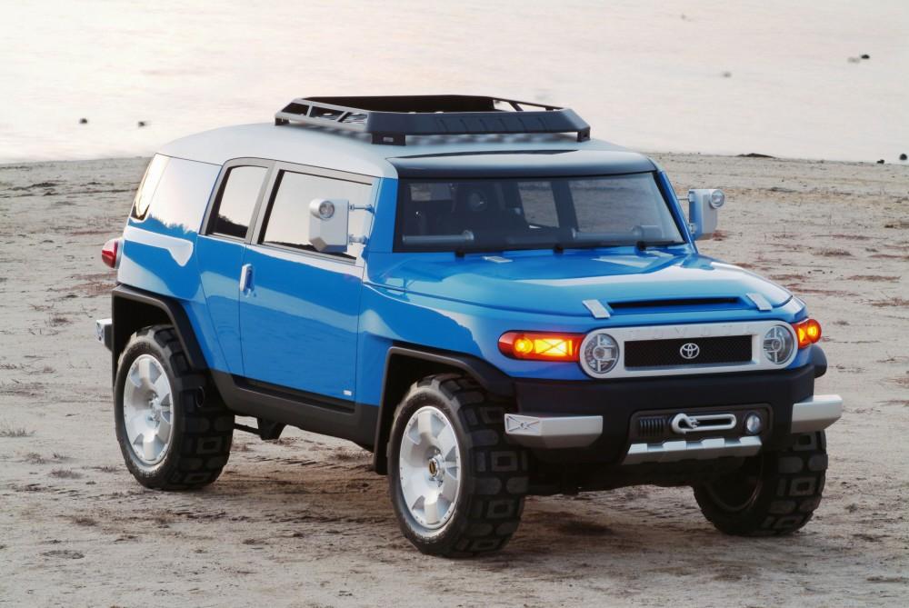 Внедорожник Toyota FJ Cruiser