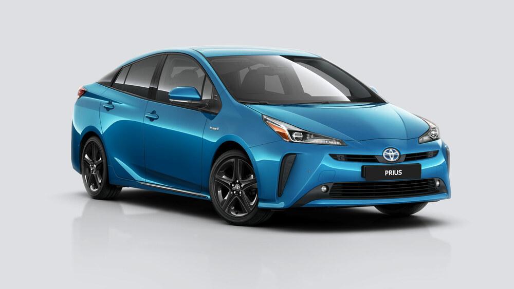 Toyota Prius синий цвет
