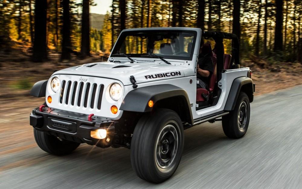 Внедорожник Jeep Wrangler