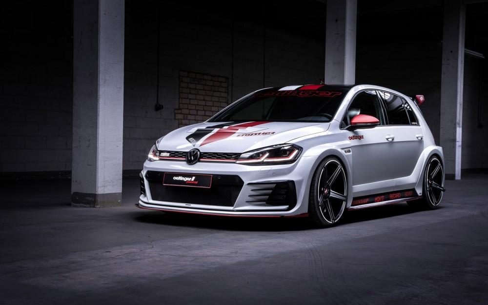 Мощный Volkswagen Golf GTI