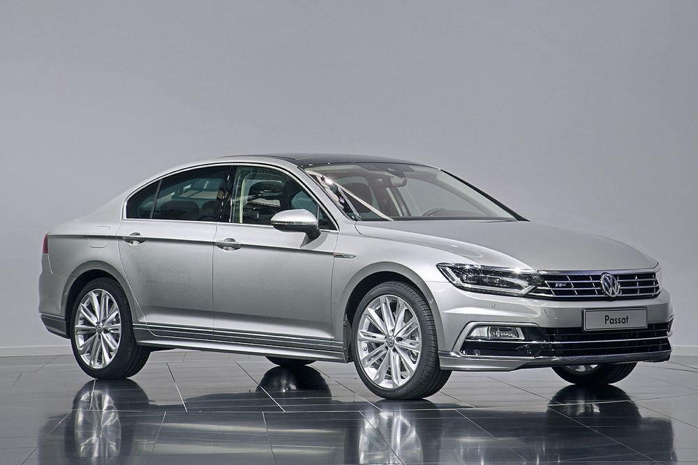 Volkswagen Passat серый